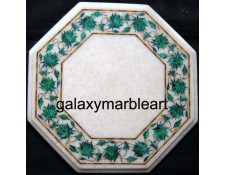 "marble table top with  border 12"" WP-1206"