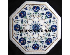 "Taj Mahal inlay work marble table top 12"" WP-1211"