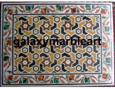 """Mughal design coffe table top 24x18"""" WIRE-241896"""