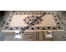 Dining table top with inlay 53x27""