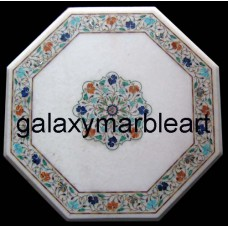 """white table top 21"""" WP-21113"""