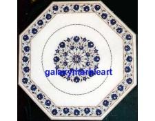 """Buy online gemstones inlaid table top 27"""" WP-2712"""